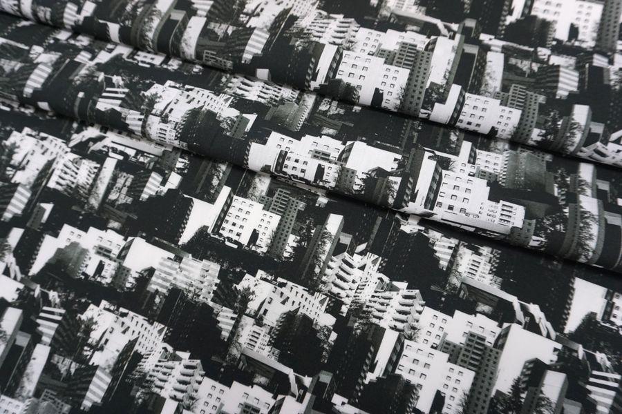 Поплин рубашечный многоэтажки SMF-A60 24052160