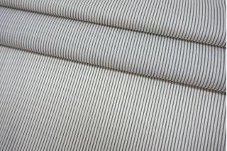 Хлопок рубашечный в полоску бело-зеленый SMF-A70 24052161