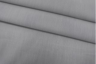 Хлопок рубашечный в полоску черно-белый SMF-A70 24052163