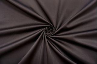 Сатин-стрейч хлопковый плательный горький шоколад NST-C70 26022112