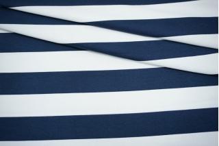 Футер в сине-белую полоску 3-х нитка Max Mara SVM-Q70 28042157