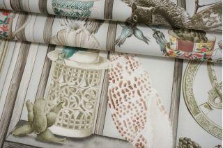 Хлопок костюмно-интерьерный белочки Osborne and Little Enchanted Gardens MII-C40 16082101