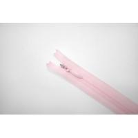 Молния потайная розовая 11 см YKK E21 17092175