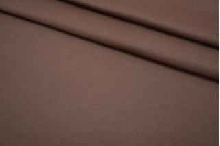 Шерсть с кашемиром дабл коричневое какао FRM-U20 20082109