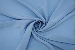 Крепдешин тонкий голубой FRM-N60 20082128