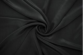 Крепдешин тонкий черный FRM-N60 20082131