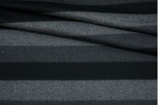 Трикотаж шерстяной в полоску серый FRM-X40 20082133