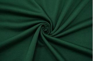 Трикотаж хлопковый двусторонний зеленый FRM-X70 21082123