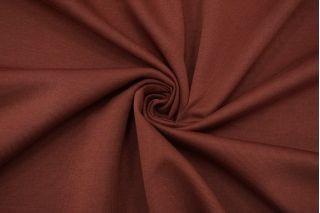 Трикотаж хлопковый двусторонний ягодно-коричневый FRM-X70 21082125