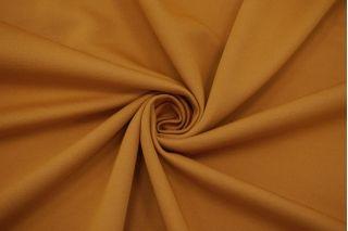 Трикотаж хлопковый двусторонний оранжево-охристый FRM-X70 21082128