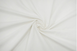 Велюр хлопковый бело-молочный TRC-K30 22082106
