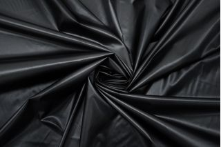 Плащевка Moncler черная TRC.H-F20 22082108