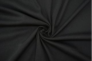 Трикотаж рибана темно-серый TRC.H-Z35 22082125