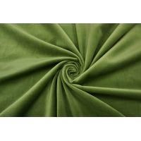 Бархат хлопковый зеленый SMF-K30 22082134