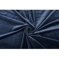 Бархат хлопковый темно-синий SMF-K70 22082135