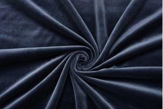 Бархат хлопковый темно-синий SMF-K70 22082137