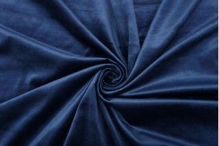 Бархат хлопковый темно-синий SMF-K70 22082138