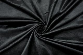 Велюр-стрейч черный SMF-K70 22082139