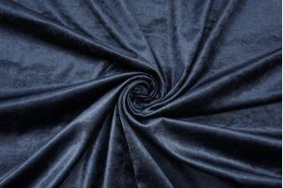 Велюр-стрейч темно-синий SMF-K70 22082141