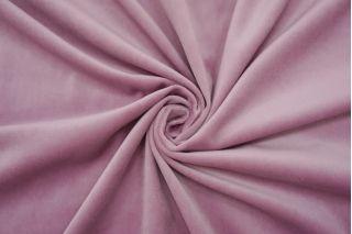 Бархат хлопковый нежный розово-лиловый SMF-K30 22082142