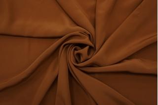 Крепдешин с шелком коричневый BRS 13102119