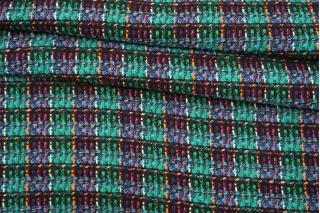 Твид-шанель с шерстью разноцветный BRS 13102128