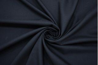 Костюмно-плательная шерсть темно-синяя MX-DD50 18082137