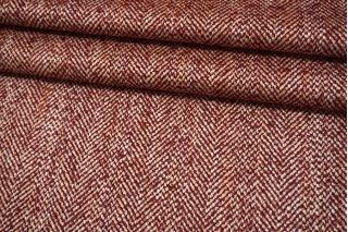 Пальтово-костюмный твид вишневый MX-U40 18082140