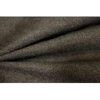 Плательная шерсть с шелком серо-коричневая PRT-P3 2111706