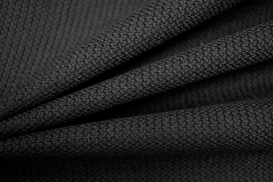 Плотная шерсть креповая черная PRT 19051722