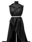 Пальтовая шерсть с кашемиром черная PRT1-F2 19051723