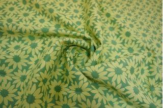 Жаккард хлопковый двусторонний цветы LT1-J4 22031602