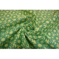 Жаккард хлопковый двусторонний цветы LT-J3 22031602
