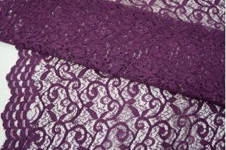 Кружево фиолетово-баклажанное UAE-O40 5121712