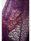 Кружево фиолетово-баклажанное UAE-ВВ2 5121712
