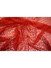 Вышивка на сетке красная UAE1-J2 5121722