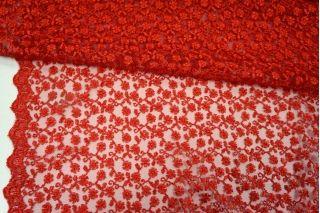 Вышивка на сетке красная UAE-C6 5121722