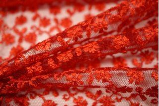 Вышивка на сетке красная UAE-C2 5121722