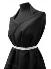 Костюмное шерстяное сукно черное PRT1-G3 8081712