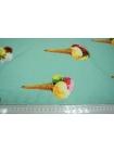 Креп-стрейч мороженое на мятном фоне UAE-H4 08011806