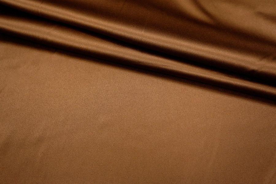 Атлас-стрейч шоколадный UAE-C3 1121704