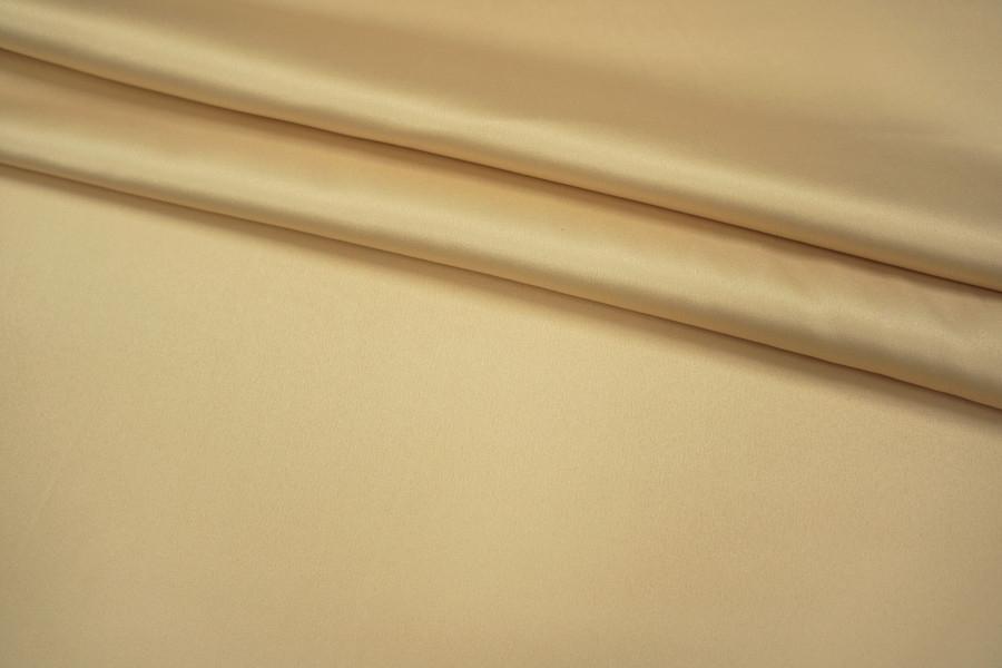 Атлас-стрейч золотистый беж UAE1-E3 1121707