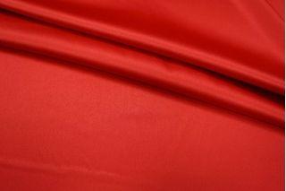 Атлас-стрейч насыщенный красный UAE1-D2 1121701