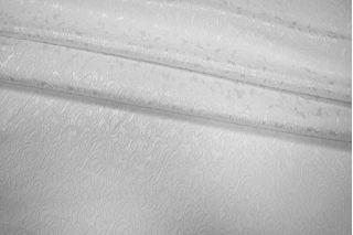 Жаккард-стрейч белый UAE1-H3 1121717