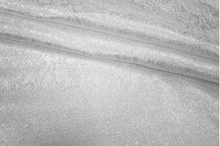 Жаккард-стрейч белый UAE1-H3 1121718