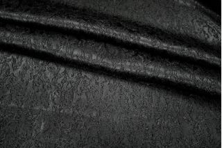 Жаккард-стрейч черный UAE F-3 1121721