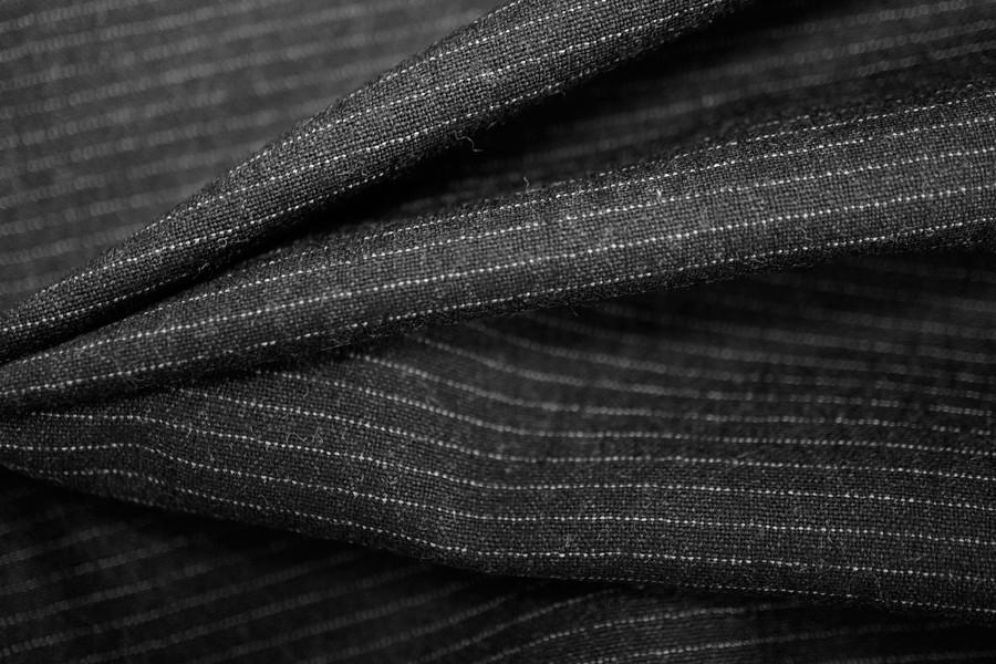 Шерсть костюмная в полоску PRT 26051715