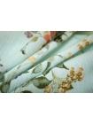 Плательная вискоза цветы на голубом PRT-B2 1031755