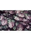 Джинса хлопковая цветы PRT-B4 10071706