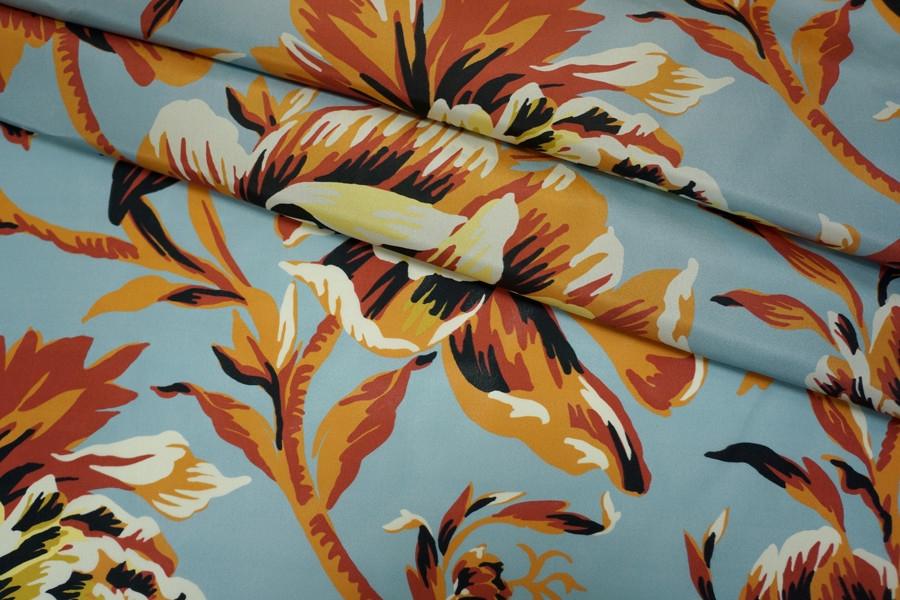 Шелк Burberry цветы PRT-C5 11071701
